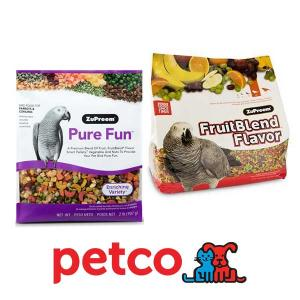 20% Off Entire Stock of ZuPreem Bird Food and Treats