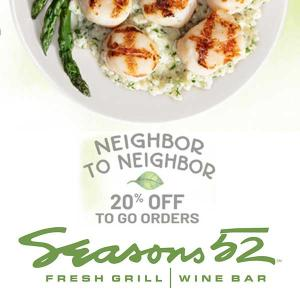 20% Off To-Go Orders