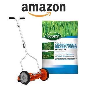 60% Off Scotts Halts Crabgrass & Grassy Weed Preventer