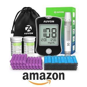 10% Off AUVON DS-W Blood Sugar Kit