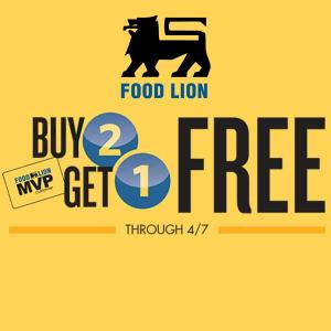 Buy 2, Get 1 Free Pantry Items