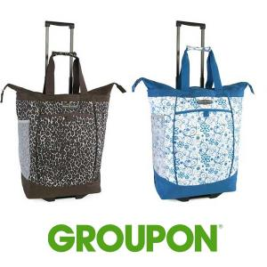 46% Off Pacific Coast Rolling Shopping Tote Bag