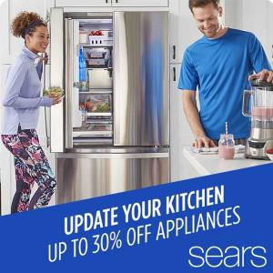 Up to 30% Off Appliances+Extra 5% Off Select Appliances
