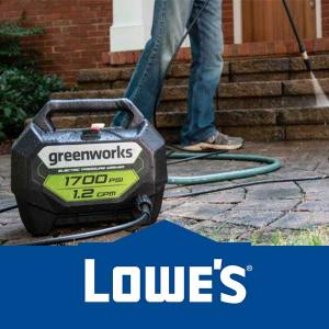 20% Off Greenworks Pressure Washer