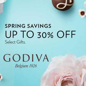 Spring Savings: Up to 30% Off Select Products
