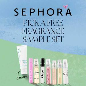 Free Trial Size Fragrance w/ $35 Purchase