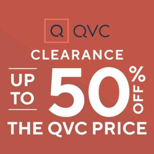 Clearance: Up to 50% Off the QVC Price + 5+ Easy Pays