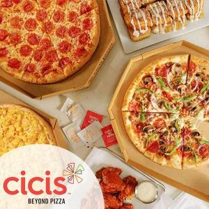 50% Off Large Specialty Pizza w/ Purchase