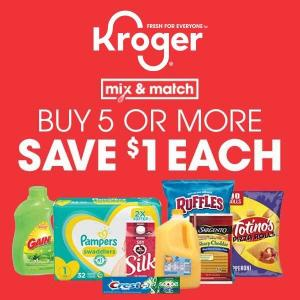 Buy 5 or More Save $1 for Each with Card