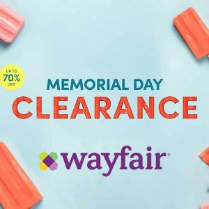 Up to 70% Off Memorial Day Clearance