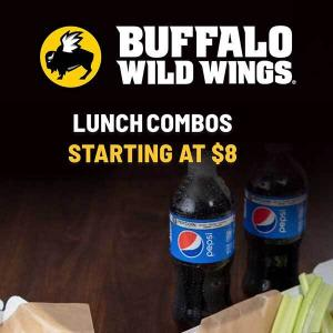 Lunch Combos Starting at $8