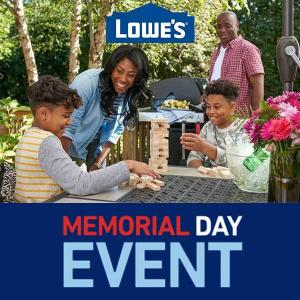 Memorial Day Savings on Outdoor Living, Tools & More