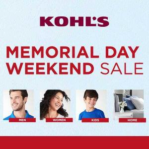 Memorial Day Weekend Sale+Extra $10 Off