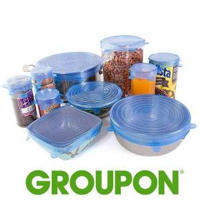 15% Off Reusable Food Storage Lid Covers (10-Pack)