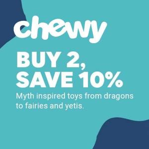 10% Off Mythical Creatures With 2 or More Purchase
