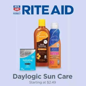 Daylogic Sun Care Starting at $2.49