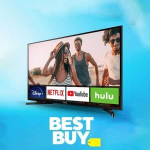 4K Smart  TVs as Low as $119.99