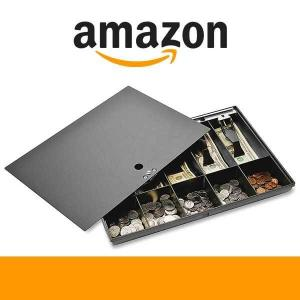 61% Off Money Tray with Locking Cover