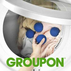 38% Off 4-Pack Reusable Dryer Balls