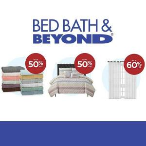 Up to 60% Off Linens