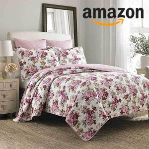50% Off Laura Ashley Lidia Cotton Quilt Set