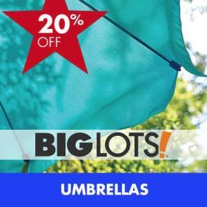 20% Off Patio Umbrellas