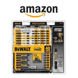 50% Off DeWalt Screwdriver Bit Set
