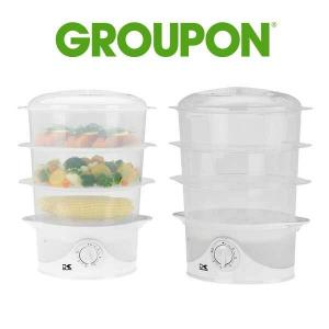 47% Off Kalorik 3-Tier Food Steamer