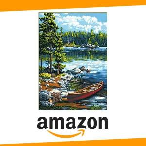 9% Off Dimensions Canoe Lake Paint by Numbers Craft Kit