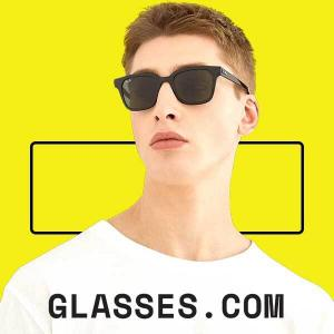 20% Off Eyeglasses, Sunglasses & Prescription Lenses