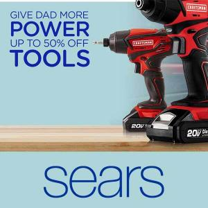 Up to 50% Off Tools for Dad