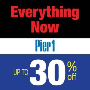 Everything Up to 30% Off