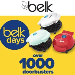 Over 1,000 Doorbusters in Belk Days Sale