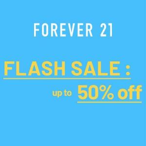 Flash Sale: Up to 50% Off