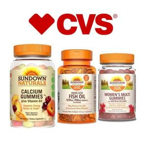 Buy 1, Get 1 Free Select Sundown Vitamins