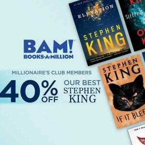 40% Off Books by Stephen King