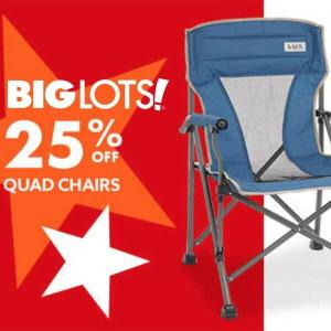 25% Off Quad Chairs