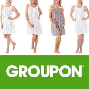 62% Off Alexander Del Rossa Women's Cotton Nightgown
