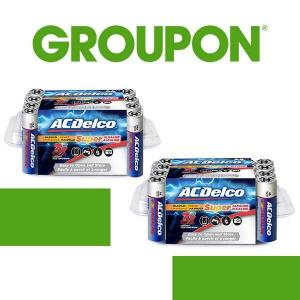 72% Off Maximum Power Alkaline Batteries (24-Pack)