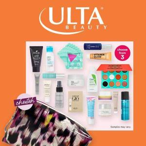 Free 18pc. Beauty Bag w/ $85 Online Purchase