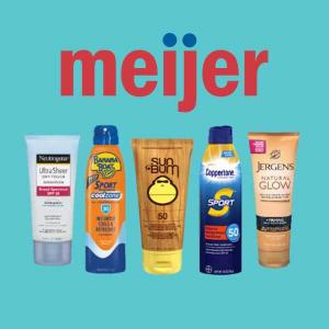 BOGO 50% Off Select Sun Care Product