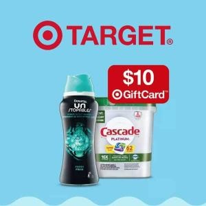 Free $10 Gift Card w/ 3 Select Cleaning Items