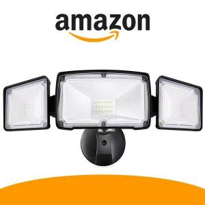 44% Off Amico 3500LM LED Security Lights Outdoor