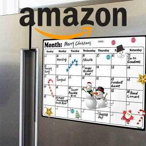15% Off Magnetic Whiteboard Fridge Calendar