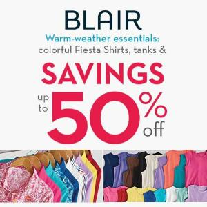 Warm-Weather Essentials: Up to 50% off