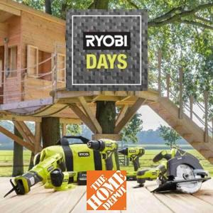 Up to 55% Off and More Savings on Exclusive Ryobi Gear