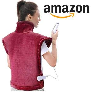 15% Off Large Heating Pad for Back and Shoulder Pain
