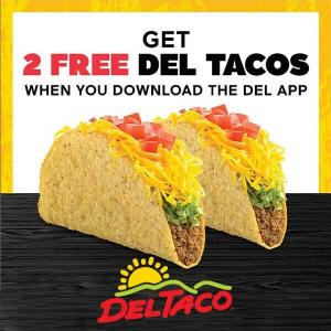 2 Free Tacos for With Download of Mobile App