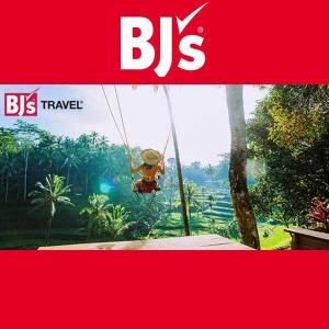 Up to $500 BJ's Gift Card w/ Travel Booking