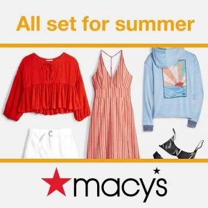 25% to 40% Off Summer Styles for Everyone